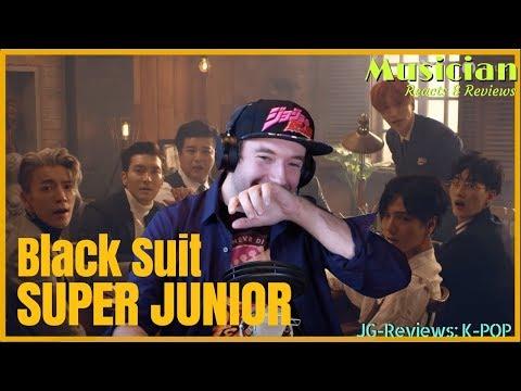 Musician Reacts & Reviews 'SUPER JUNIOR - Black Suit' | JG-Reviews:K-POP