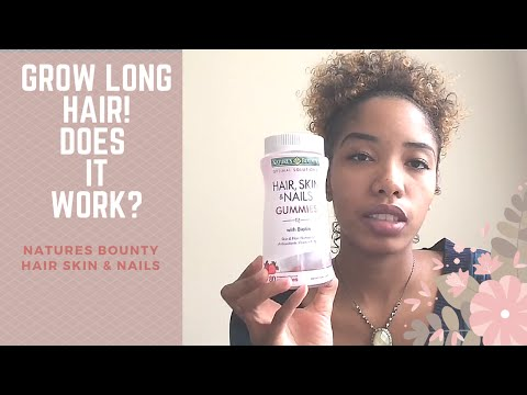 Nature\'s Bounty Hair, skin, & nails gummies review | VideoMoviles.com