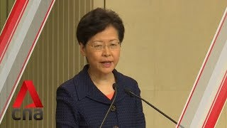 "Hong Kong protests: Carrie Lam reiterates extradition Bill is ""dead"""