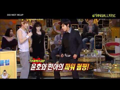 [HD] Yunho dancing to Change (Hyuna)