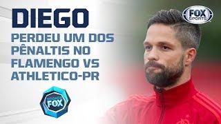 'Dor no peito está grande', diz Diego após eliminação do Flamengo
