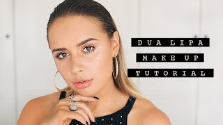 DUA LIPA MAKE UP TUTORIAL | Hello October