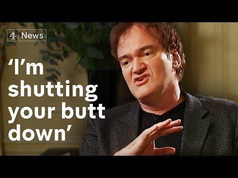 Quentin Tarantino interview: 'I'm shutting your butt down!'
