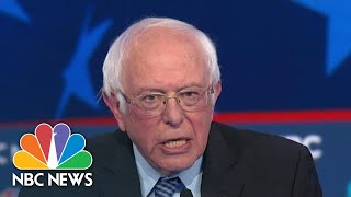 Bernie Sanders, Mike Bloomberg, Joe Biden Spar Over Democratic Socialism | NBC News