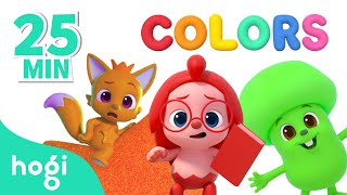 Learn Colors SPECIAL Collection | Pinkfong & Hogi | Color for Kids | Learn and Play with Hogi