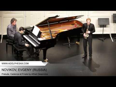 Dinant2014 NOVIKOV Evgeny Prelude, Cadence et Finale by Alfred Desenclos