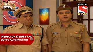 Inspector Pandey and Gopi's altercation