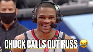 Russell Westbrook Apologizes To Chuck For Not Getting A Triple-Double