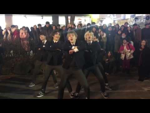 EXO - Monster Dance cover Busking in Hongdae