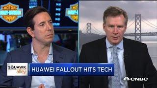 Huawei fallout hits tech sector
