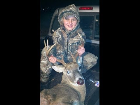 Briana's first buck - Virginia