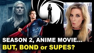 The Witcher Ratings & Anime - Henry Cavill for Bond 007?