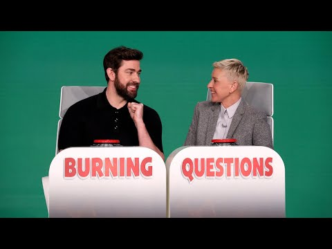 Extended Cut: John Krasinski Answers Ellen's 'Burning Questions'