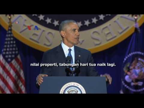 Pidato Perpisahan Obama
