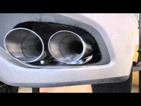 Larin exhaust system on a Maserati GranTurismo 4.2 Auto
