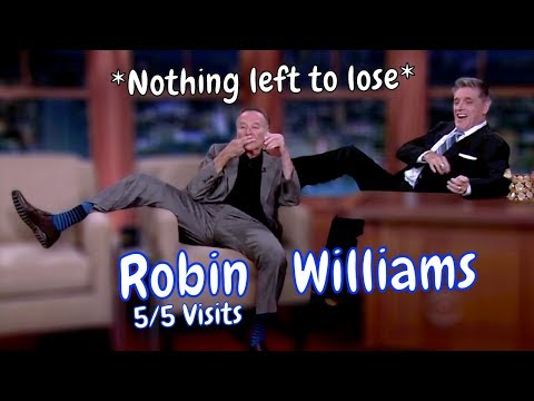Robin Williams - Chlamydia, Your Dad Is Here! - 5/5 Appearances In Chronological Order [Mostly HD]