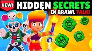 ⚠️5 HIDDEN SECRETS YOU MISSED! in New Brawl Talk from Brawl Stars Brawl-O-Ween Update #Brawlmaps
