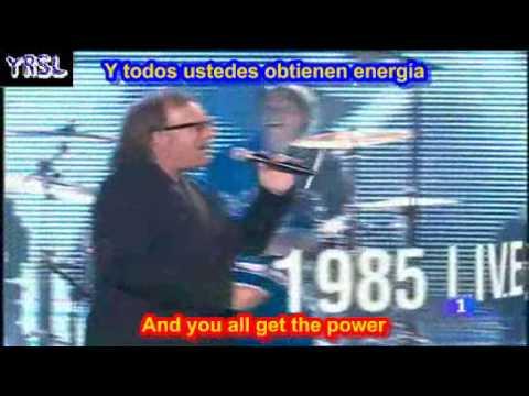 Live is life  -  Opus  ( SUBTITULADO ESPAÑOL INGLES )