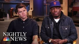 Lester Holt Talks Political Satire With Saturday Night Live Stars | NBC Nightly News