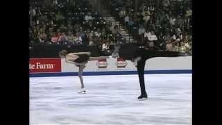 Bridget Namiotka and John Coughlin 2007 US Nationals Short Program