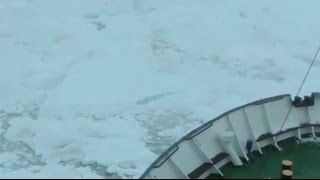 TRAPPED IN ANTARCTICA - BBC NEWS