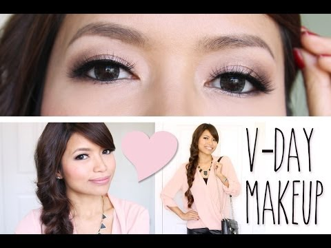 Get Ready With Me: Valentine's Day Makeup Tutorial   Outfit - Smashpipe Style