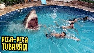 PEGA PEGA TUBARÃO!! ( VALENDO 500 R$ ) [ REZENDE EVIL ]