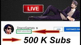 Aaj 500k Karwado Guys | PUBG MOBILE  LIVE |  DRACO GAMES | KUT DENGE
