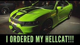 ORGANIK VLOG: I ORDERED  MY HELLCAT!!!