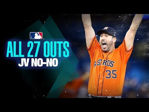 All 27 Outs from Justin Verlander's No-Hitter