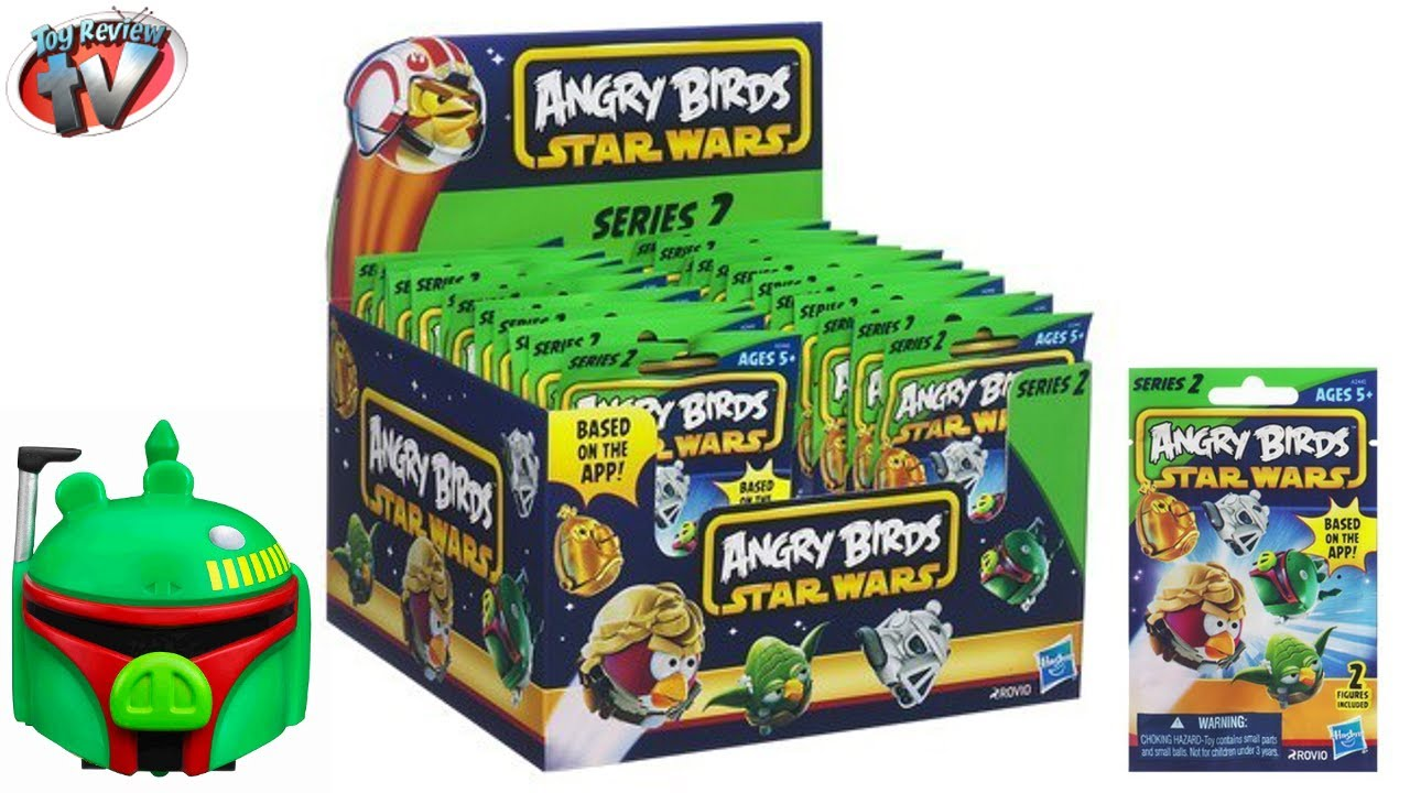 Angry Birds Star Wars Series 2 Blind Bag Surprise Toys
