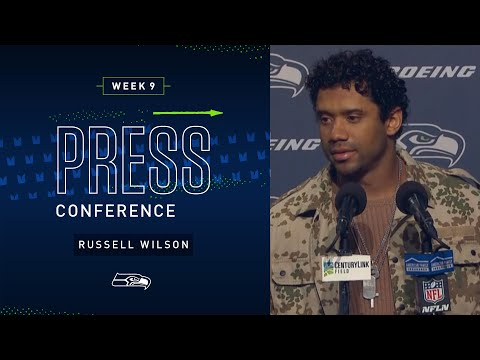 Russell Wilson Postgame Press Conference vs Buccaneers | 2019 Seattle Seahawks