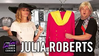 Julia Roberts Acts Out Her Film Career w/ James Corden