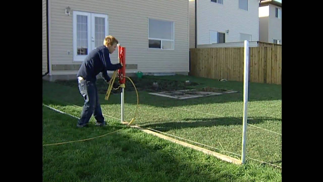 Vinyl Fencing Install Video Straightn Level Fencing