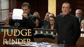 Claimant Gets Caught Tampering With Evidence | Judge Rinder