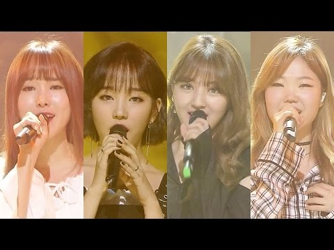 《Special Stage》 G4 (백아연-이수현-유주-지효) - U Go Girl @인기가요 Inkigayo 20160828