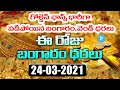 Today Gold rate | Gold Price in Hyderabad | Silver Price 24th March 2021 | Telugu Popular TV
