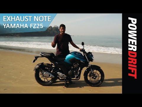 Yamaha FZ25 : Exhaust Note : PowerDrift
