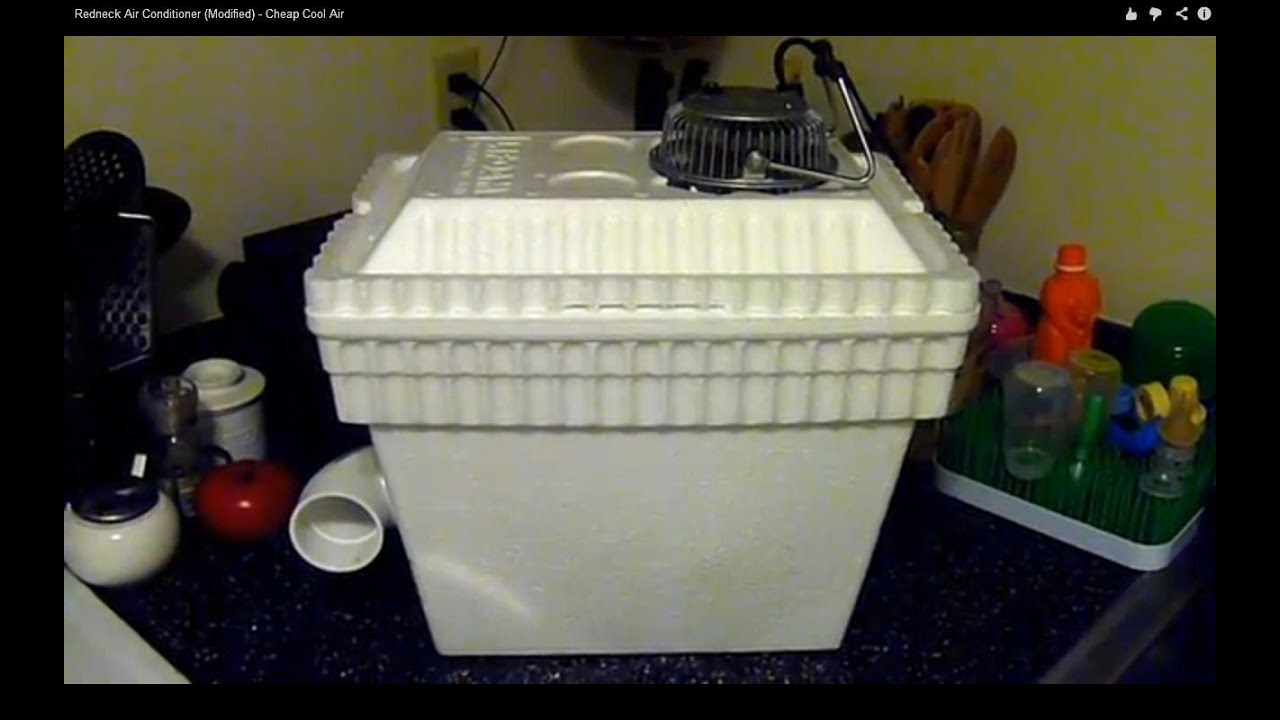 Redneck Air Conditioner Modified Cheap Cool Air Youtube