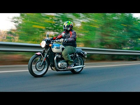 Triumph Bonneville T100: Road Test Review