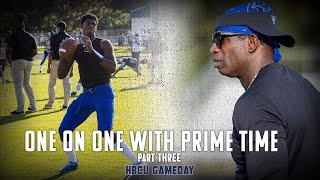 Deion Sanders Interview Part Three