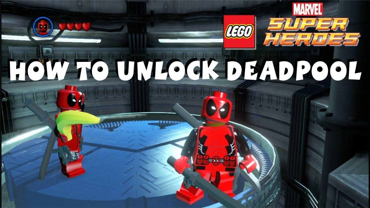 Deadpool 30 Superhéroes: Deadpool Cheat Code Lego Marvel Super Heroes