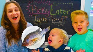 Kids are Picky Eaters! 🥕🍞🍌🥗🐟