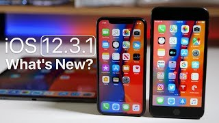 iOS 12.3.1 is Out! - What's New?