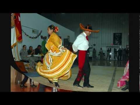 Mexican hat dance jarabe tapatio mexikanischer huttanz akkodeon