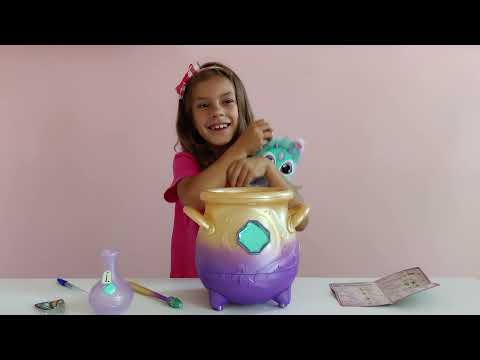 Do you believe in real magic? Watch as kids experience real magic and are amazed by Magic Mixies Magic Cauldron, this year's must-have toy by Moose Toys. See what magically appears after the magical mist disappears.