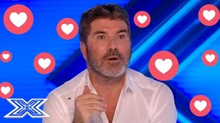Has Simon Got The HOTS For This Woman? OMG...Look At His FACE!
