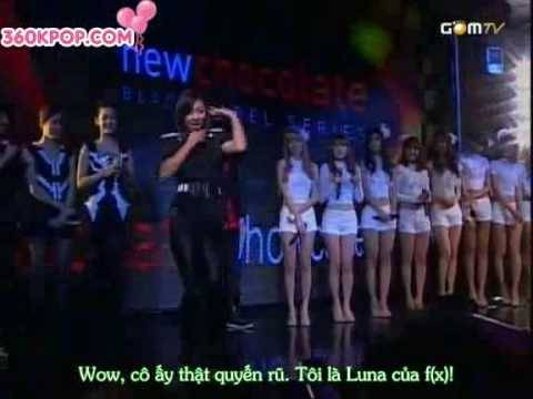 [Vietsub]SNSD & f(x) - Chocolate Love & Interview  Part 3/3 [360kpop]