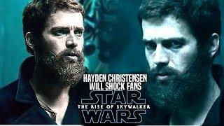 The Rise Of Skywalker Hayden Christensen Scene Will Shock Fans! (Star Wars Episode 9)
