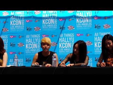 [fancam] KCON 2013 - F(X) Fanmeet